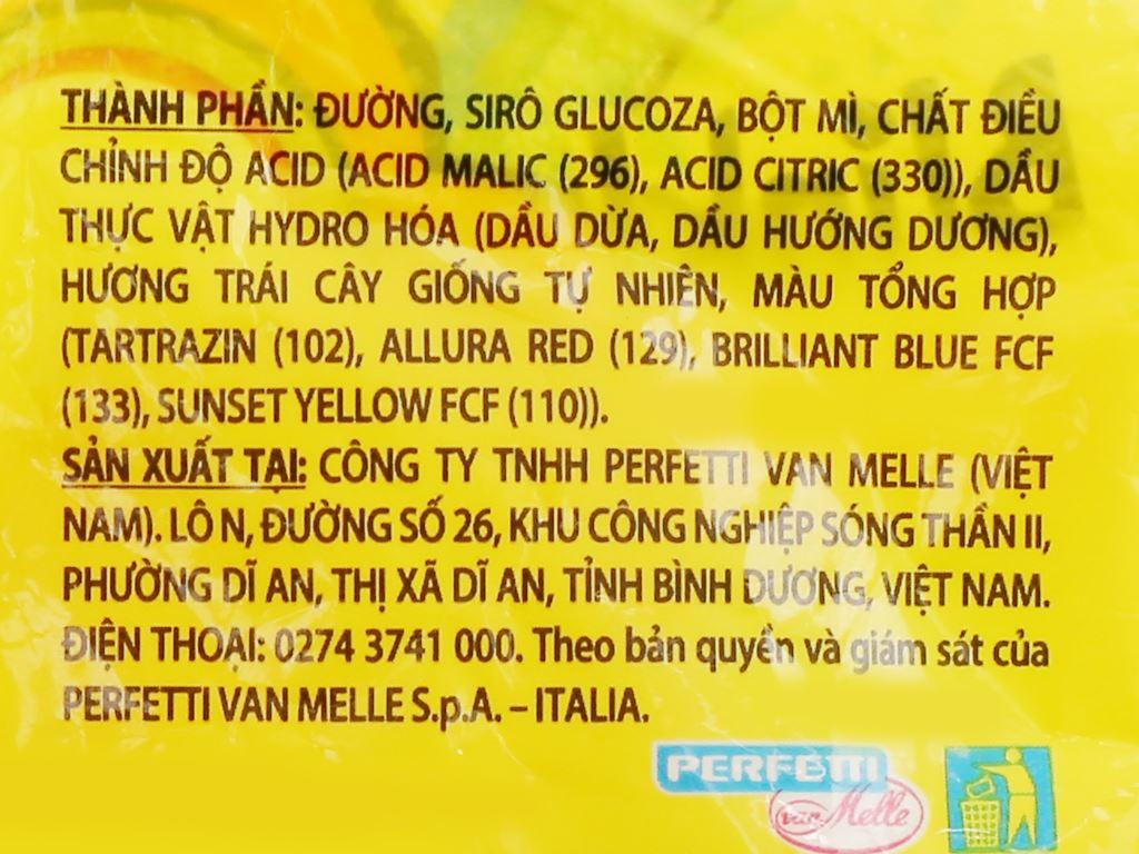 Kẹo dẻo hương trái cây Chupa Chups Bites gói 56g 4