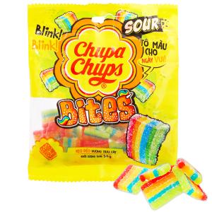 Kẹo dẻo hương trái cây Chupa Chups Bites gói 56g