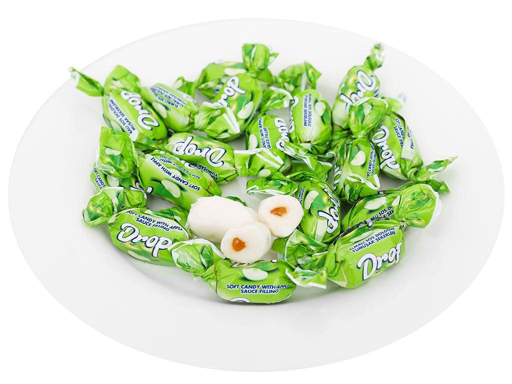 Kẹo mềm nhân táo Drop gói 90g 5