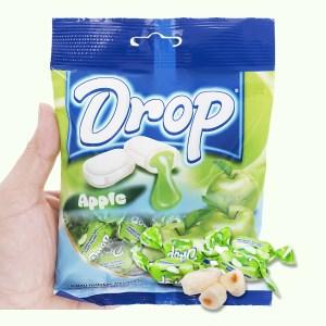 Kẹo mềm nhân táo Drop gói 90g