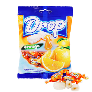 Kẹo mềm nhân cam Drop gói 90g