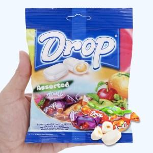Kẹo mềm nhân trái cây hỗn hợp Drop gói 90g