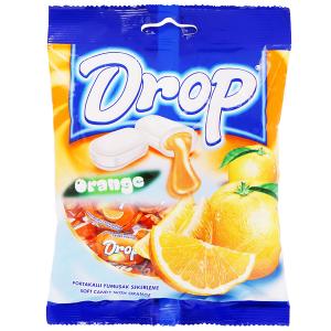 Kẹo mềm nhân cam Drop gói 500g