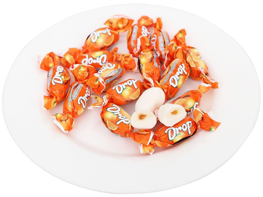 Kẹo mềm nhân cam Drop gói 500g 4