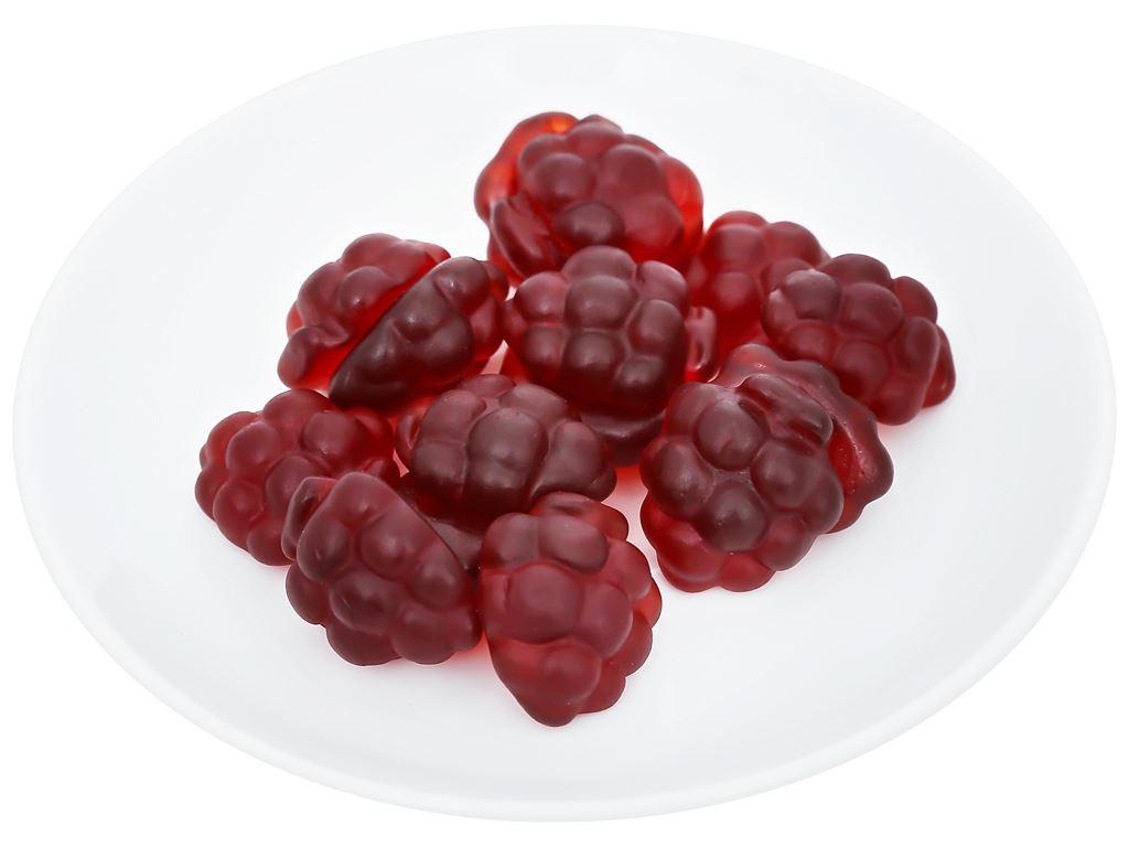 Kẹo dẻo vị nho đỏ Orion Gummi gói 55g 6