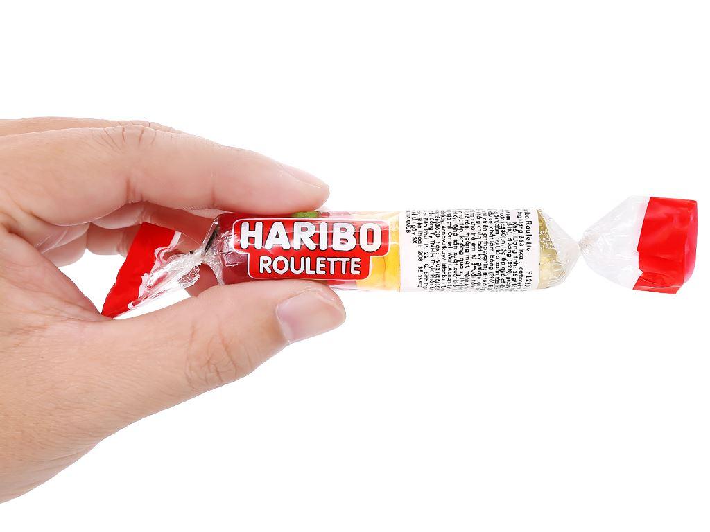 Kẹo dẻo Haribo Roulette thỏi 25g 3