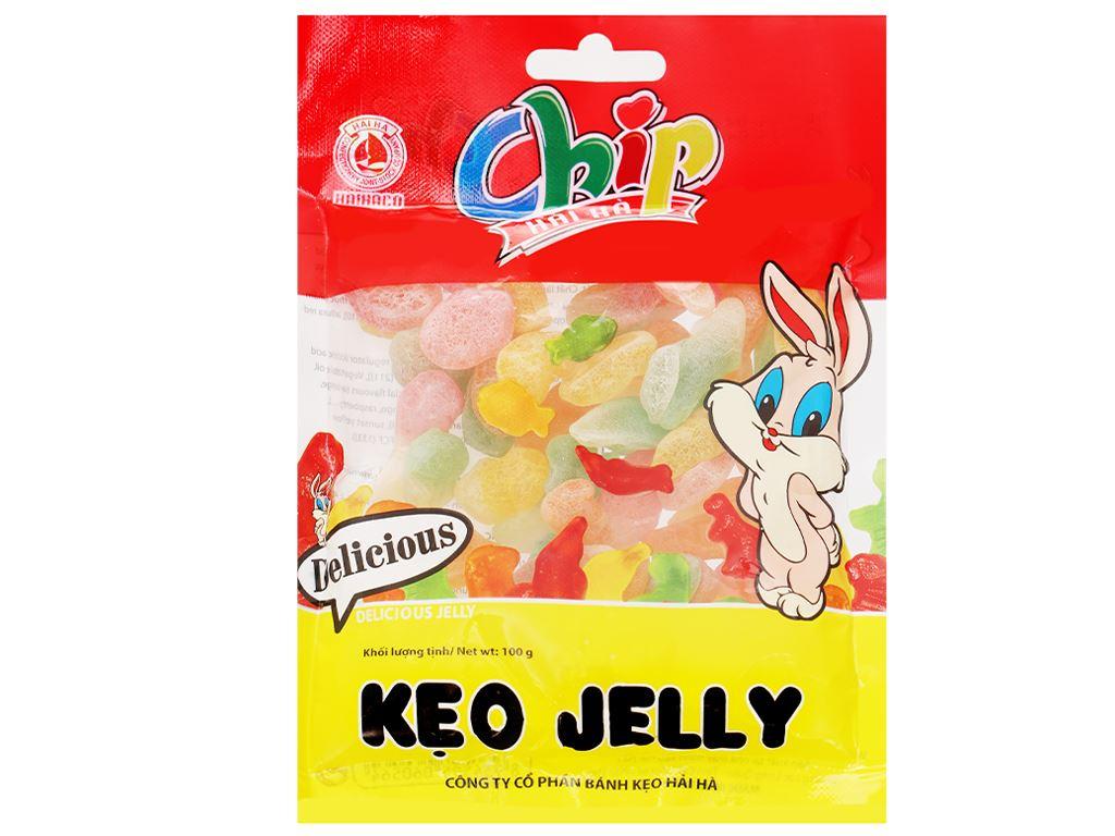 Kẹo dẻo Hải Hà Jelly Chip gói 100g 1
