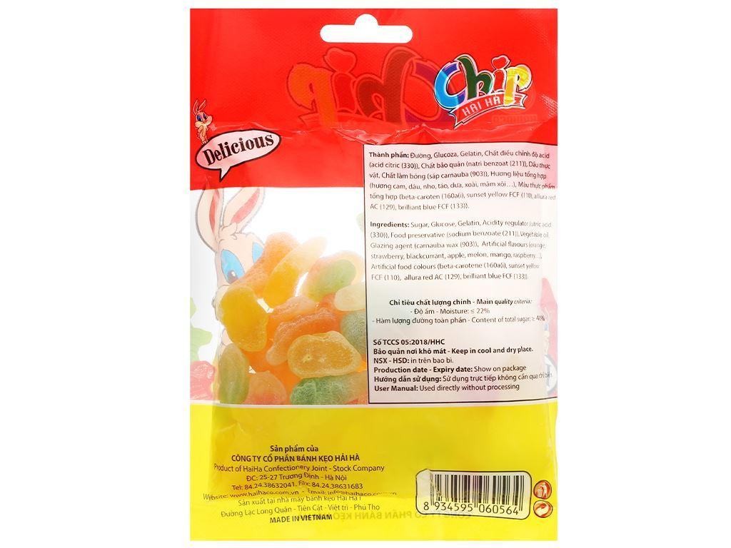 Kẹo dẻo Hải Hà Jelly Chip gói 100g 2