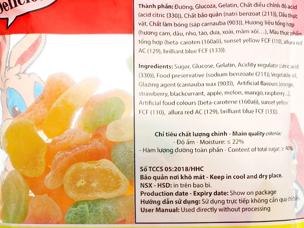 Kẹo dẻo Hải Hà Jelly Chip gói 100g 3