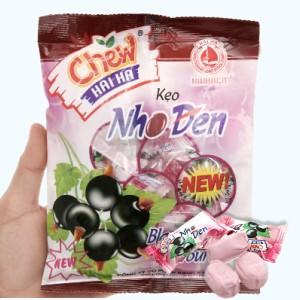 Kẹo nho đen Hải Hà Chew gói 100g