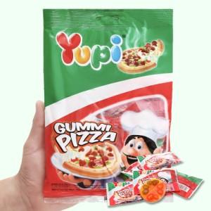 Kẹo dẻo Yupi Gummi Pizza gói 96g