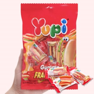 Kẹo dẻo Yupi Frankurter gói 96g
