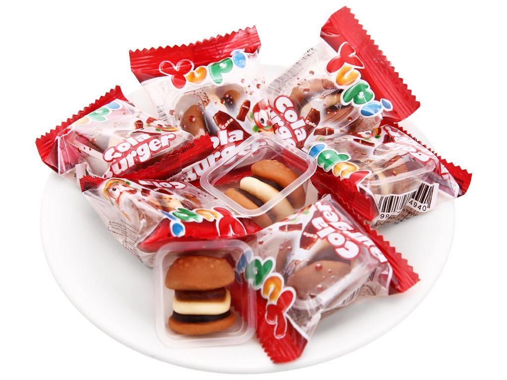 Kẹo dẻo Yupi Cola Burger gói 96g 6