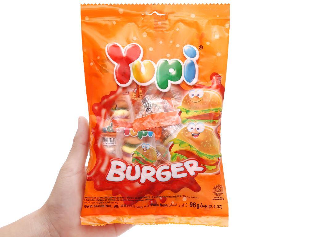 Kẹo dẻo Yupi Burger gói 96g 4