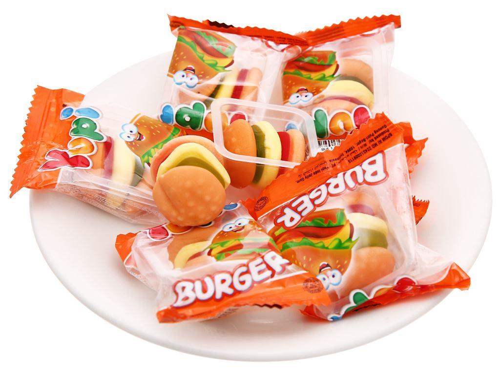 Kẹo dẻo Yupi Burger gói 96g 5