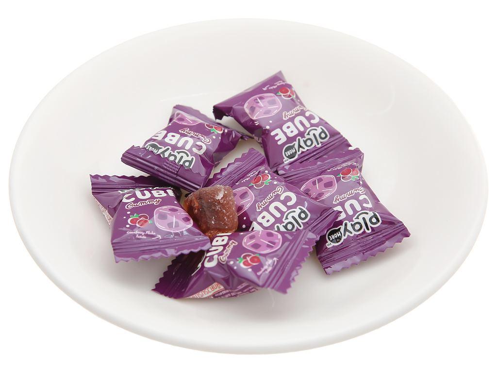 Kẹo dẻo viên vị nam việt quất hương nho Play More gói 25g 5