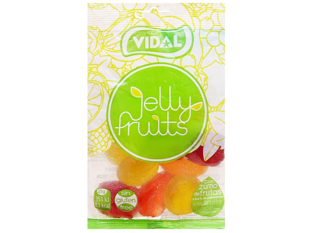 Kẹo dẻo trái cây Vidal gói 100g 1