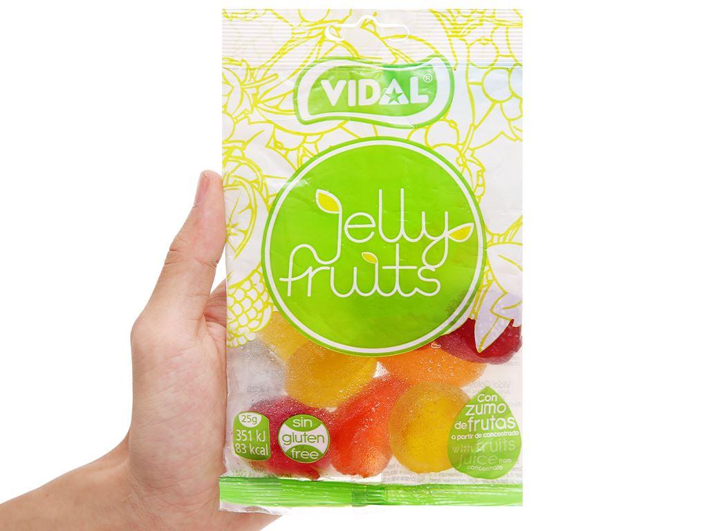 Kẹo dẻo trái cây Vidal gói 100g 4