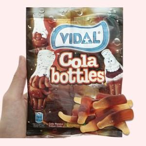 Kẹo dẻo hình chai cola Vidal Cola Bottles gói 100g