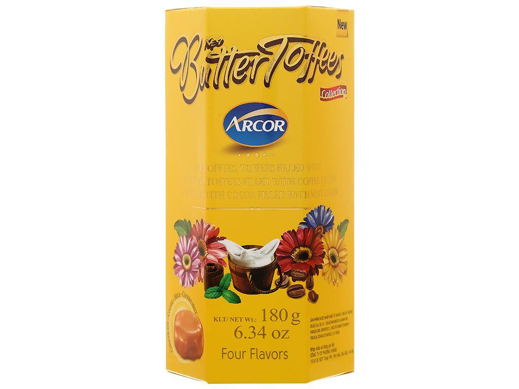 Kẹo mềm Arcor Butter Toffees hộp 180g - giao hộp ngẫu nhiên 3