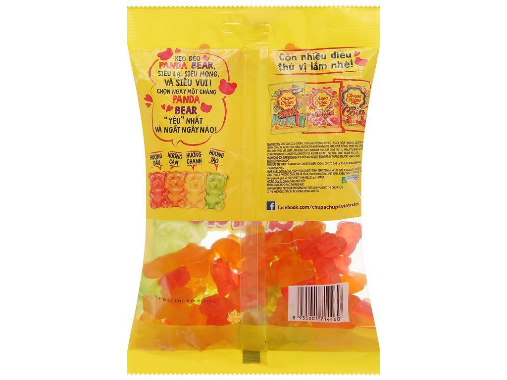 Kẹo dẻo hương trái cây tổng hợp Chupa Chups Panda Bears gói 160g 2