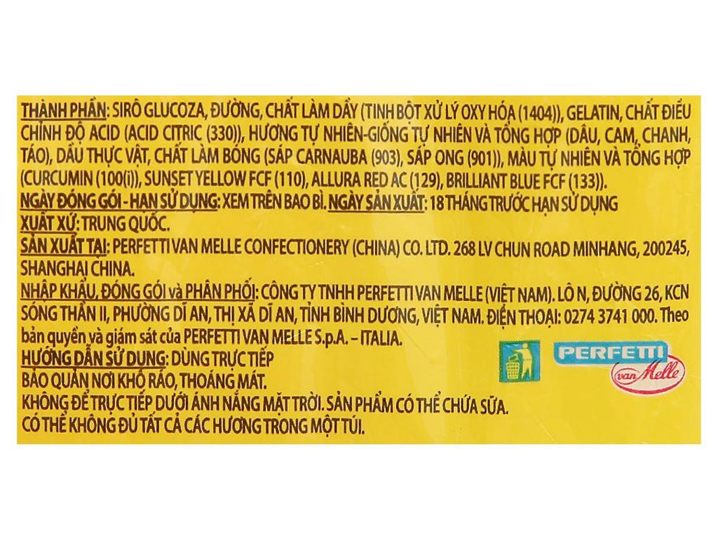 Kẹo dẻo hương trái cây tổng hợp Chupa Chups Panda Bears gói 160g 3