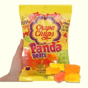 Kẹo dẻo hương trái cây tổng hợp Chupa Chups Panda Bears gói 160g