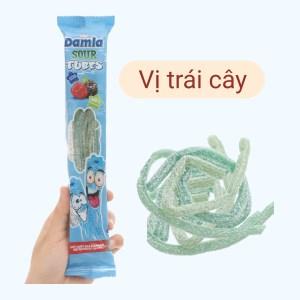 Kẹo dẻo hương phúc bồn tử và dâu rừng Damla Sour Tubes gói 35g