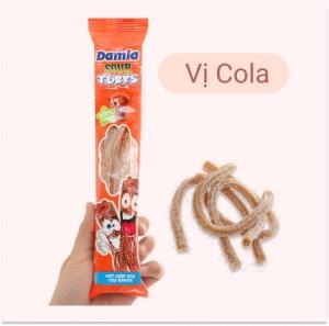 Kẹo dẻo hương cola Damla Sour Tubes gói 35g