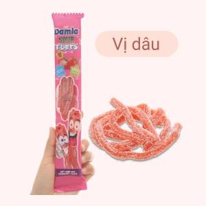 Kẹo dẻo hương dâu Damla Sour Tubes gói 35g