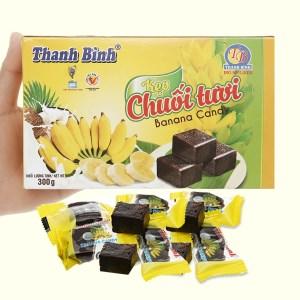 Kẹo chuối Thanh Bình tươi hộp 300g