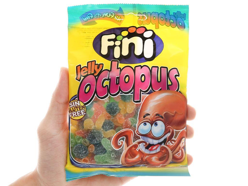 Kẹo dẻo Fini Jelly Octopus gói 100g 4