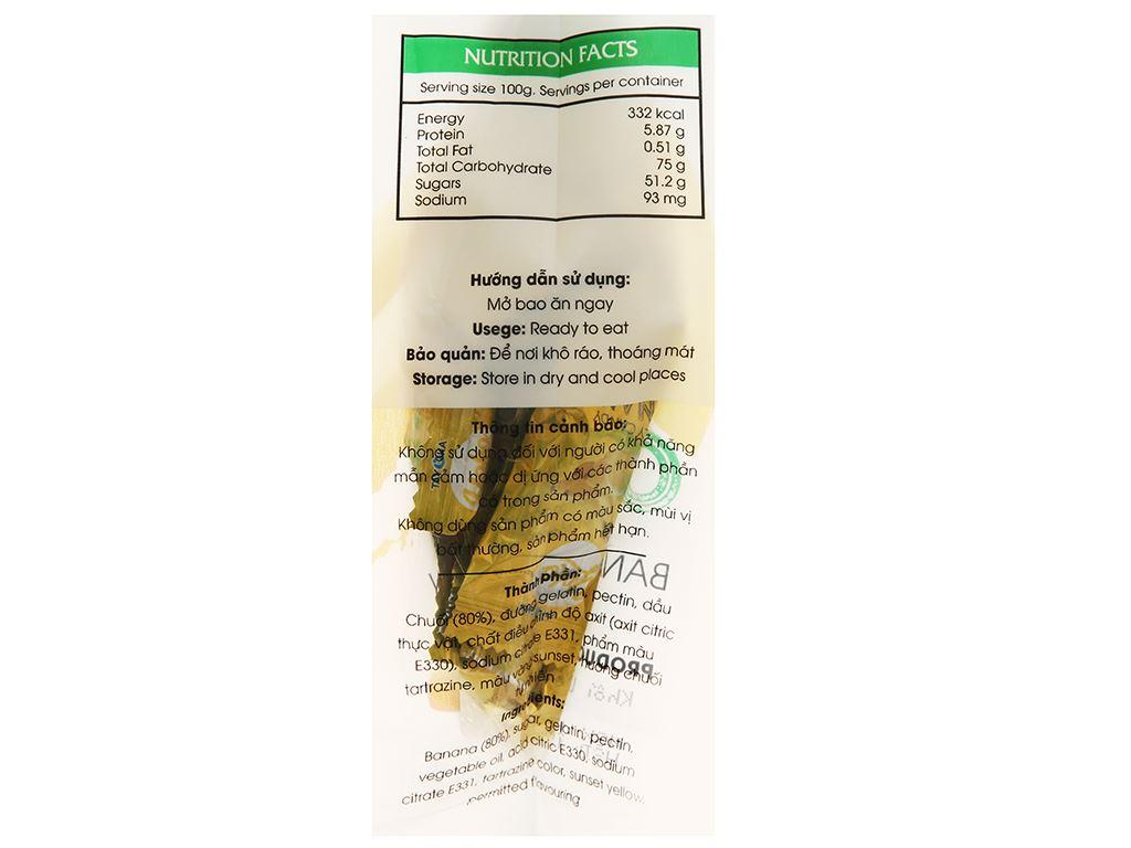 Kẹo dẻo chuối Yoko gói 150g 3