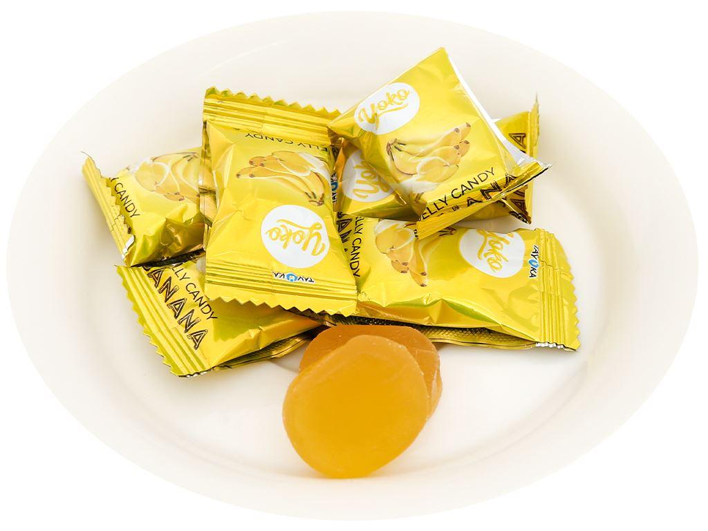 Kẹo dẻo chuối Yoko gói 150g 5