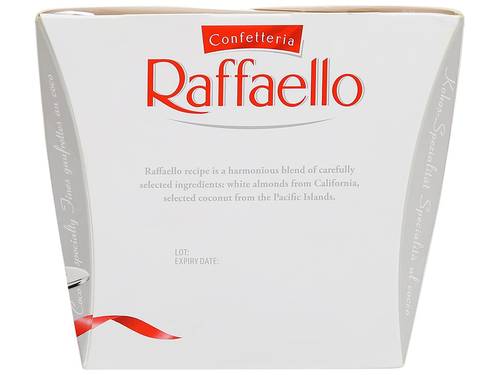 Kẹo Ferrero Confetteria Raffaello hộp 150g 2