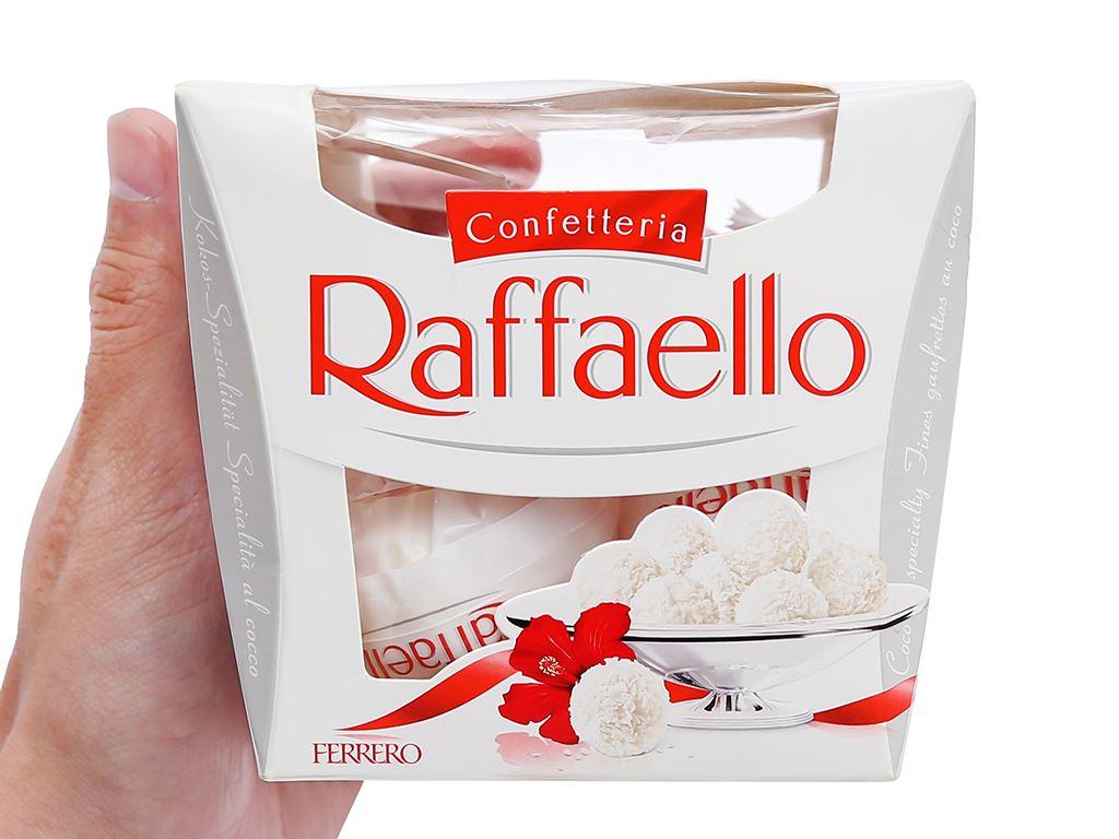 Kẹo Ferrero Confetteria Raffaello hộp 150g 4