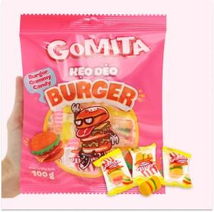Kẹo dẻo Gomita burger gói 100g