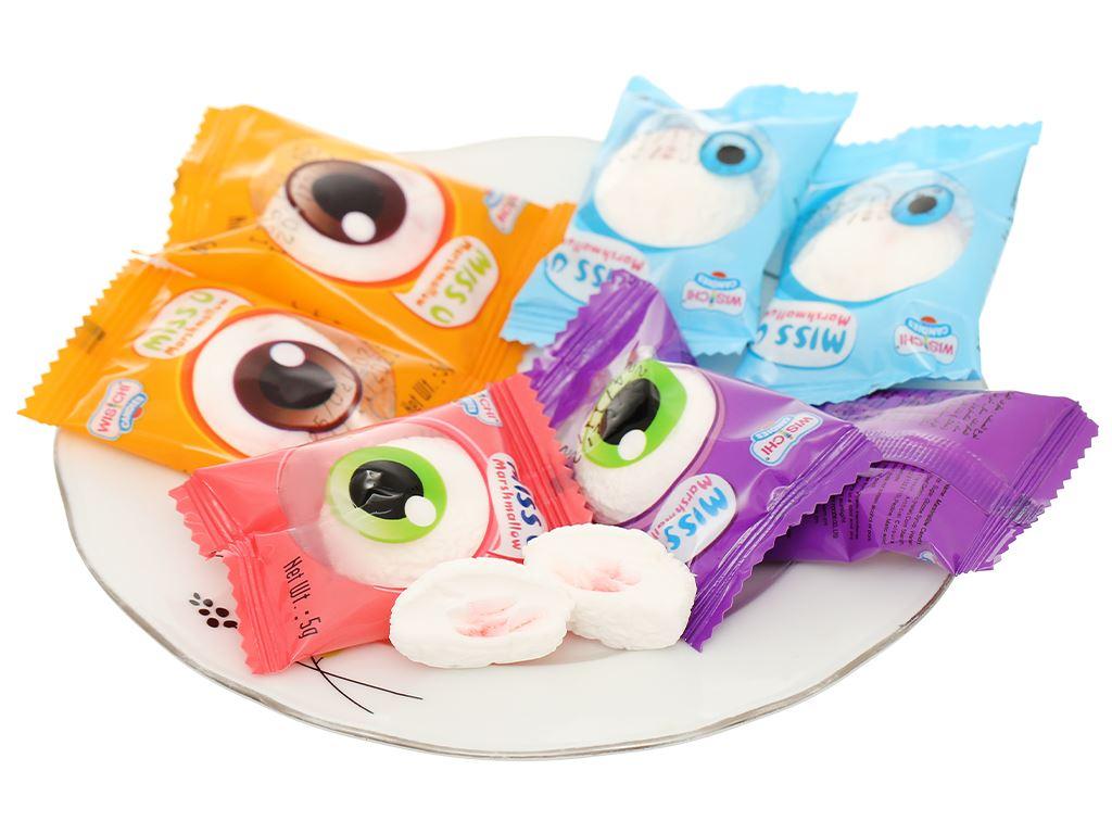 Kẹo marshmallow Wisichi Jam Filled gói 100g 12