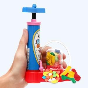Kẹo bơm bong bóng Play More bộ 10g