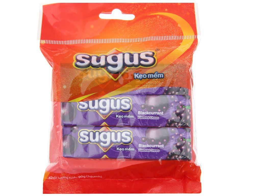 Kẹo mềm hương nho Sugus 90g (3 thanh) 1