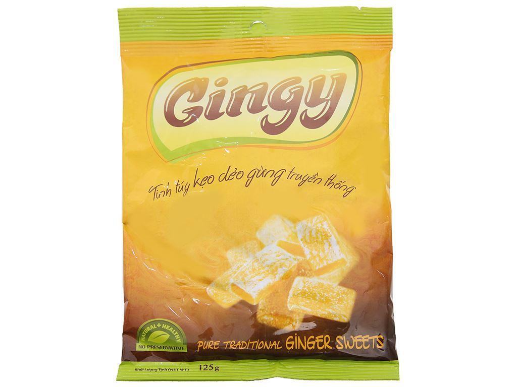 Kẹo dẻo gừng Gingy gói 125g 1