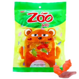 Kẹo dẻo hương trái cây Bibica Zoo Jelly gói 100g