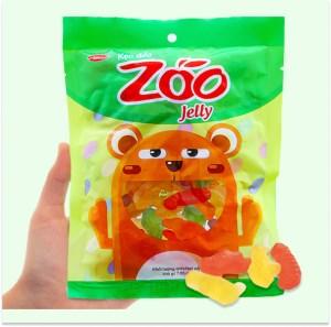 Kẹo dẻo hương trái cây Bibica Zoo Jelly gói 200g