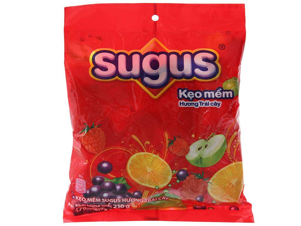 Kẹo mềm hương trái cây Sugus gói 210g 1