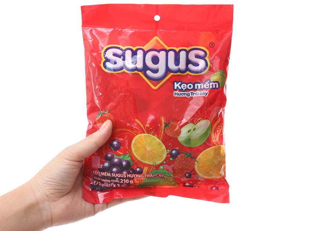 Kẹo mềm hương trái cây Sugus gói 210g 3