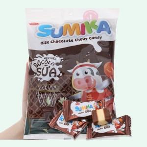 Kẹo mềm socola sữa Sumika gói 140g