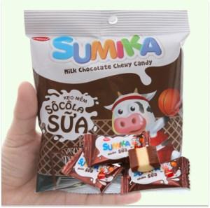 Kẹo mềm socola sữa Sumika gói 70g