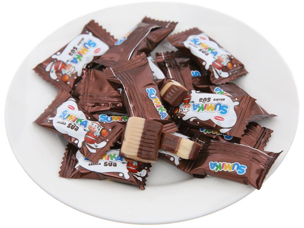 Kẹo mềm socola sữa Sumika gói 70g 3