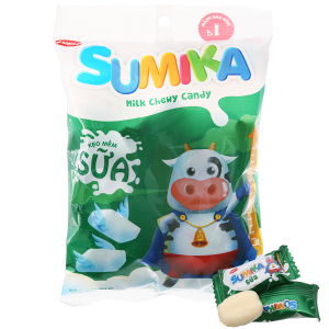 Kẹo mềm sữa Sumika gói 140g