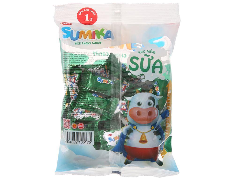 Kẹo mềm sữa Sumika gói 140g 2